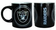 Oakland Raiders Sculpted Warm Up Coffee Mug