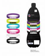 Oakland Raiders Silicone Beverage Bands