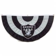 Oakland Raiders Team Bunting