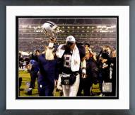 Oakland Raiders Tim Brown 2002 Action Framed Photo