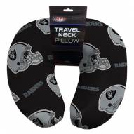 Oakland Raiders Travel Neck Pillow