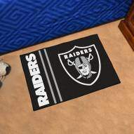 Oakland Raiders Uniform Inspired Starter Rug