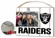 Oakland Raiders Weathered Logo Photo Frame