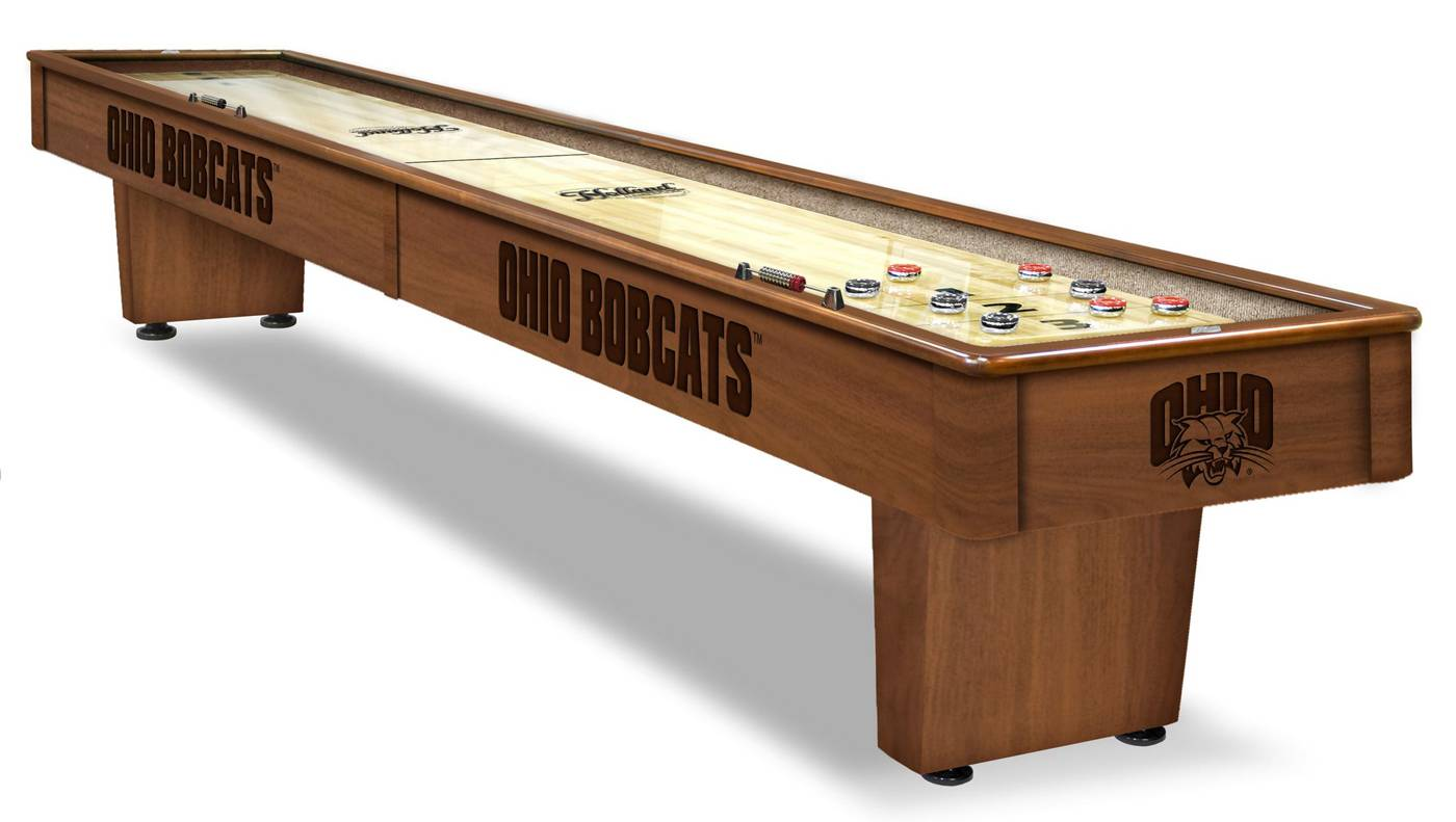 Discount Shuffleboard Tables Ohio Bobcats Shuffleboard Table