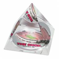 "Ohio State Buckeyes ""The Shoe"" Crystal Pyramid"