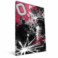 "Ohio State Buckeyes 16"""" x 24"""" Spirit Canvas Print"
