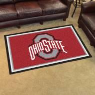 Ohio State Buckeyes 4' x 6' Area Rug