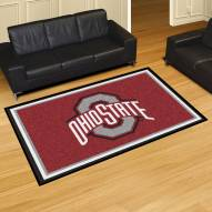 Ohio State Buckeyes 5' x 8' Area Rug