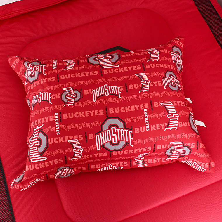 Ohio State Buckeyes All Over Pillow Sham