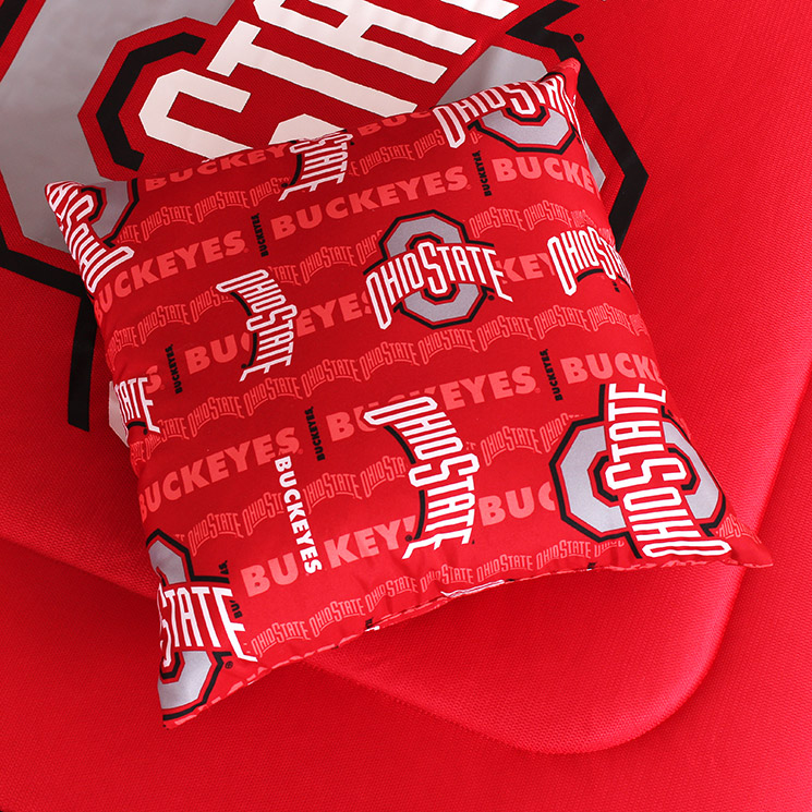 Ohio State Buckeyes All Over Pillow