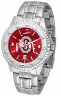Ohio State Buckeyes Competitor Steel AnoChrome Men's Watch