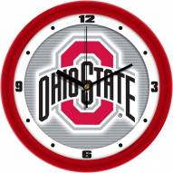 Ohio State Buckeyes Dimension Wall Clock