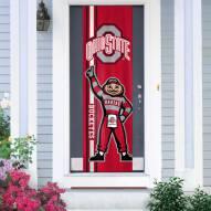 Ohio State Buckeyes Door Banner
