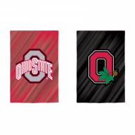 Ohio State Buckeyes Double Sided Garden Flag