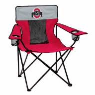 Ohio State Buckeyes Elite Tailgating Chair