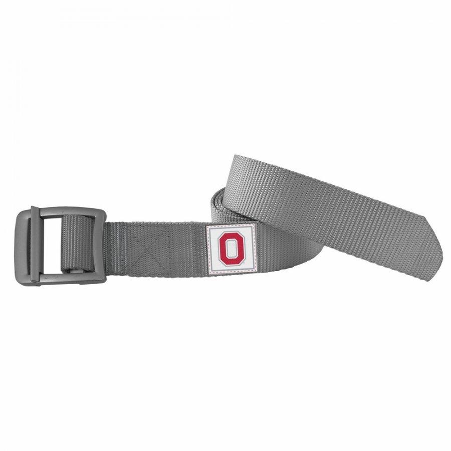 Ohio State Buckeyes Gray Field Belt