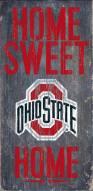 Ohio State Buckeyes Home Sweet Home Wood Sign