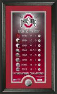 Ohio State Buckeyes Legacy Supreme Minted Coin Panoramic Photo Mint