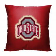 Ohio State Buckeyes Letterman Pillow