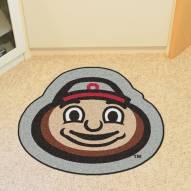 Ohio State Buckeyes Mascot Mat