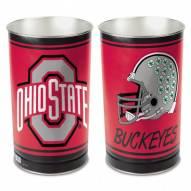 Ohio State Buckeyes Metal Wastebasket