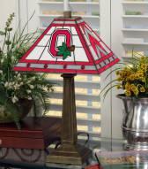 Ohio State Buckeyes Mission Table Lamp