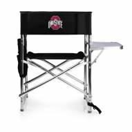 Ohio State Buckeyes NCAA Black Sports Folding Chair