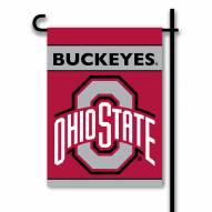 Ohio State Buckeyes NCAA Premium 2-Sided Garden Flag