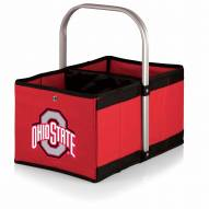 Ohio State Buckeyes Red Urban Picnic Basket