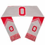 Ohio State Buckeyes Reversible Stripe Scarf