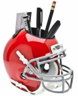 Ohio State Buckeyes Scarlet Schutt Football Helmet Desk Caddy