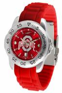 Ohio State Buckeyes Sport Silicone Men's Watch
