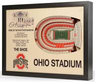 Ohio State Buckeyes Stadium View Wall Art