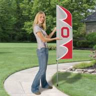 Ohio State Buckeyes Swooper Flag