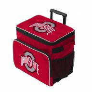 Ohio State Buckeyes Tracker Rolling Cooler