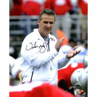 "Ohio State Buckeyes Urban Meyer ""Clapping"" Signed 16"" x 20"" Photo"