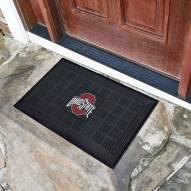 Ohio State Buckeyes Vinyl Door Mat