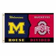 Ohio State/Michigan 3' x 5' House Divided Flag
