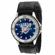 Oklahoma City Thunder Veteran Velcro Mens Watch
