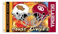 Oklahoma/Oklahoma State 3' x 5' House Divided Flag