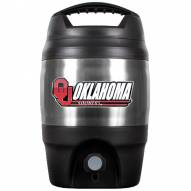 Oklahoma Sooners 1 Gallon Beverage Dispenser
