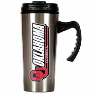 Oklahoma Sooners 16 oz. Stainless Steel Travel Mug
