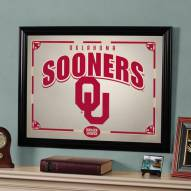 "Oklahoma Sooners 23"" x 18"" Mirror"
