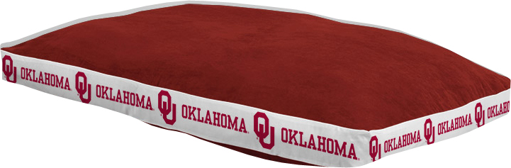 "Oklahoma Sooners 26"""" x 37"""" Dog Bed"