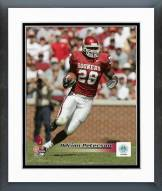 Oklahoma Sooners Adrian Peterson 2004 Action Framed Photo