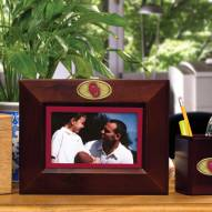 Oklahoma Sooners Brown Landscape Picture Frame
