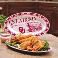 Oklahoma Sooners Ceramic Serving Platter