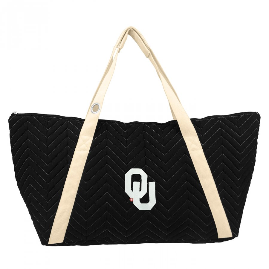 Oklahoma Sooners Chevron Stitch Weekender Bag