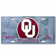 Oklahoma Sooners Collector's License Plate