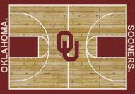 Oklahoma Sooners College Home Court Area Rug